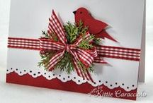 Christmas Cards  / Inspiring Ideas and techniques to make your own handmade Christmas cards!