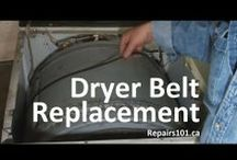 Household Appliance Repairs101 / Repairs tutorials on how to fix common problems with household appliances.