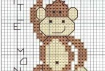 Bookmark Crossstitch / Bookmark -Kitap Ayracı