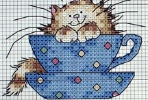 Cats Crossstitch