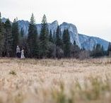 yosemite weddings / Weddings and engagements in and near Yosemite National Park | Outdoor Wedding | Mountain Weddings in California