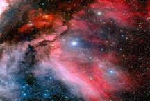 Universe / Sky Field, Star, Galaxy