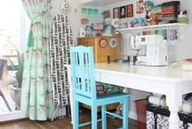 Sewing Room Inspo / Awesome craft and sewing room ideas - must implement all of these!