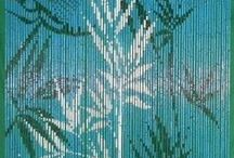 Curtains & Dividers / Bamboo beads curtains.. who would have thought they could look so gorgeous?!