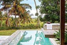 Piscina   Pool / Piscinas refrescantes, pequenas, médias e grandes