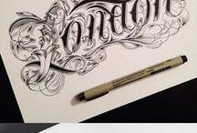 Typography&Calligraphy