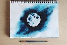 dibujo y pintura / Aquí están técnicas,estrategias y ideas sobre dibujos o siertos tipos de pintura