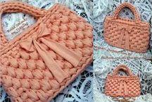 Fettuccia - Borse / Coloratissime borse in fettuccia! :)