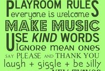 playroom / Things I want to do for the girls playroom