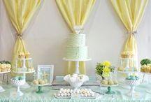 Table de réception de baptême / Les plus belles tables de baptême ... Piochez, partagez, reproduisez les meilleures idées !