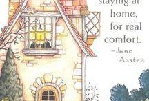 Jane Austen - ihr Leben und ihre Bücher / Jane, Janes Familie, Janes Zitate, Zitate, Zitate..und mehr...