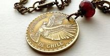 Coins of the World / Coins made into jewelry