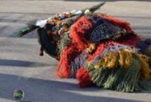 """Kinder Brauchtumsumzug in Mühlau am 01.02.2015 / Muller sind Figuren die den Winter austreiben sollen. Dieses """"mullen"""" ist ein alter Brauch im Raum um Innsbruck den sogenannten Martha Dörfern, Mühlau, Arzl, Rum, Thaur und Absam (Fotografiert mit einer Nikon D7000 und einem 60mm Objektiv)"""