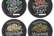 Labels / We love all kinds of labels! Printable, diy, stickers, all of them!