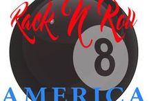 Rack 'N' Roll America / Rack 'N' Roll America is a reality based television series about average (amateur) pool players, matched up in teams of two (Scotch Doubles) that compete against each other.