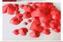 Valentines / Valentine's day ideas, food, decorations, crafts and inspiration.