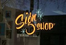 Hand-Lettered & Sign Painting