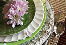 Let's Set the Table / Inspirational tablescapes for the everyday home.