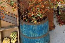 Fall / Fall,  Halloween & thanksgiving decorating ideas for inside & outside of the house / by True North Interior Design & Antiques, Dan & CJ Zondervan