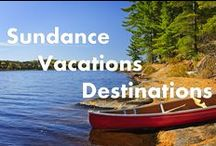 Sundance Vacations Resorts / This is a collection and some highlights for our Various Sundance Vacations Resorts and Destinations / by Sundance Vacations