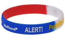Mediband bracelets / Stylish Medical ID Alert bracelets