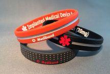 Custom reversible Designer medibands / Custom reversible designer medical ID by Mediband