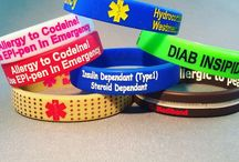 Custom medibands / Custom BOLD medical ID by Mediband