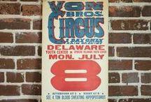 Show Posters (Magic, Sideshow & Circus)