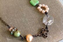 jewelry / Hand made jewelry inspiration / by True North Interior Design & Antiques, Dan & CJ Zondervan