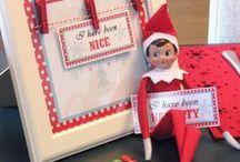 Elf on the Shelf Mischief / Elf on the shelf antics, ideas and inspiration.