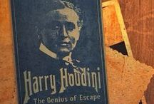 Houdini- A Visual Collection / A graphical collection of Houdini Posters, Photos, Illustrations and Ephemera.