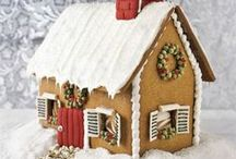 Noel - gingerbread house / Everything you need to have a gingerbread house building party