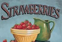 Sweet Strawberries / My strawberry addiction. / by Sandy STRAWBERRY