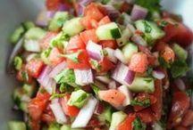 salads / by Brittney Bomnin