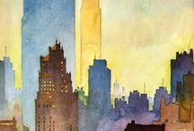 Watercolors / Paintings / by Elizabeth Philbrook
