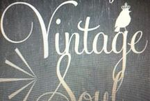 FOR THE LOVE OF VINTAGE / by Ginny Todd