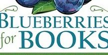 Blueberries & Books Fundraiser / Recipes and ideas for what to do with your 10lb of blueberries courtesy of our annual fundraiser!