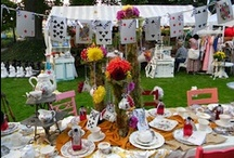 Theme: Mad Hatter Tea Party / by Phoebe Cater