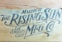 The Rising Sun Mfg. Co. / Tailor made indigo goods, & workwear capturing the optimistic spirit of America's golden age of craftsmanship.