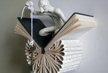 Books, poems, art