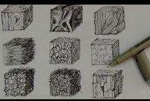 Art - Texture / Creating texture in your art