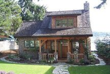 Log Cabin Elegant / Love beautiful Log Cabins