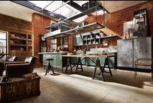 Loft / loft / studio / atelier / interior / industrial / warehouse / barn / factory / architecture / archi / apartment / deccor / decor / decoration / space / spaces / ambient / ambiance / design / furniture / seat / table / brick / wall / light / rustic / rusty / modern / confort / contemporary / home / house / building / living / room / bedroom/ kitchen / mezzanine / ceiling / stairs / window / door / floor