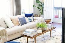 Apartment lounge & dining / by Un jour de moins Designs