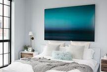 Apartment bedroom / by Un jour de moins Designs