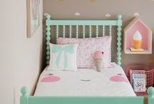Toddler Room Inspiration / Toddler/kid room designs and ideas - bedding, decorations, storage, DIY projects.