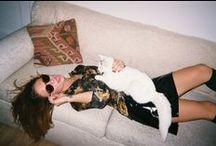 Dolores Haze x Julietta / Fashion shoot on 35mm with New York City singer, Julietta
