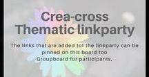 Crea-Cross / Het pinterest bord voor alle deelnemers van de creatieve linkparty Crea-cross.
