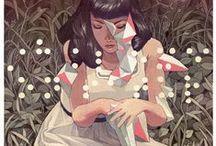 Illustration / Amazing stylized conceptual designs