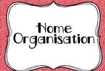 Home organisation / Home organisation ideas... for the teacher looking for some school holiday projects :p